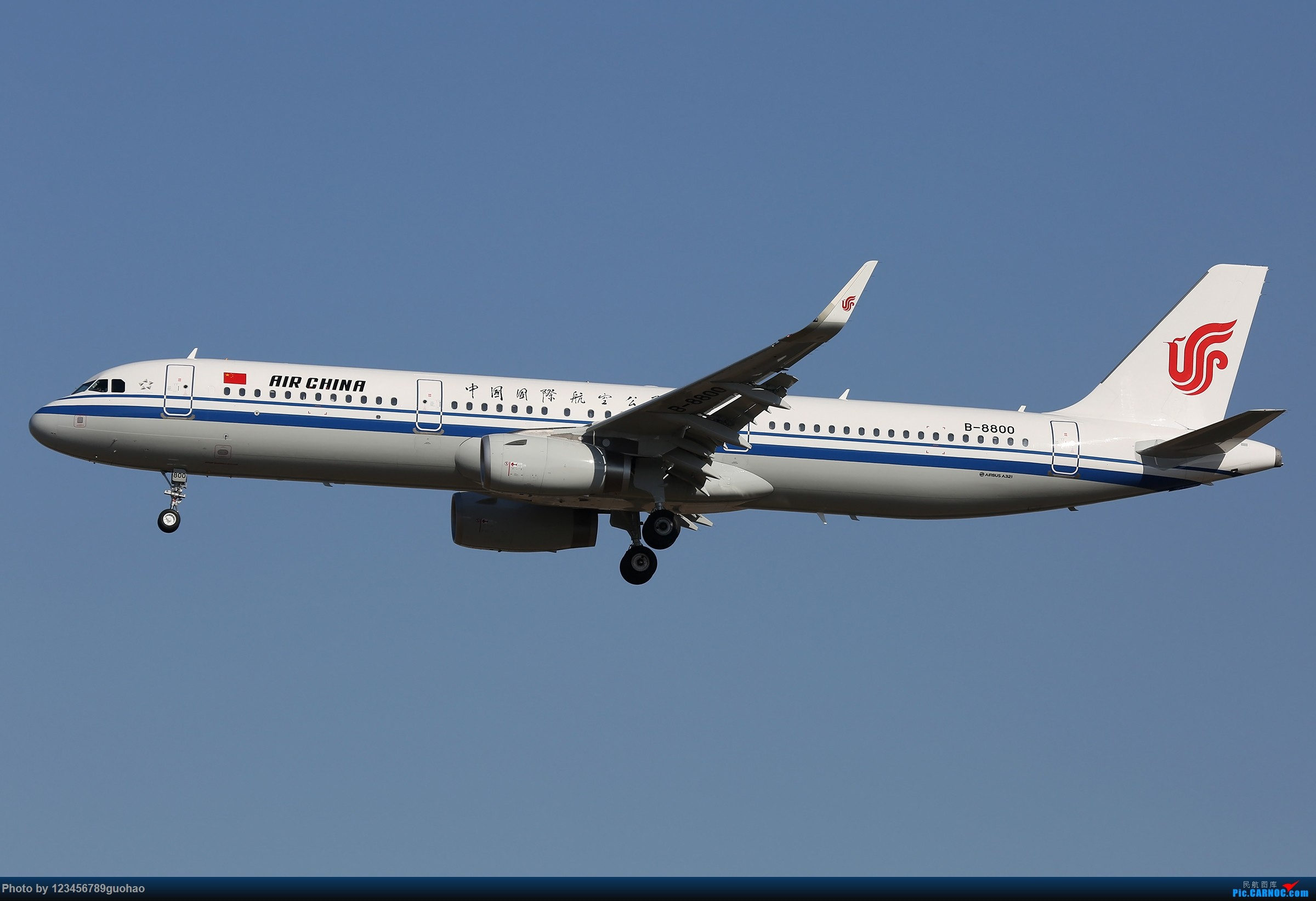 Re:[原创]阿联酋保护野生动物 AIRBUS A321-200 B-8800 北京首都国际机场