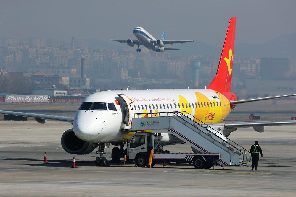 Re:[原创][DLC外场] 周末 EMBRAER E-190 B-3150 中国大连国际机场