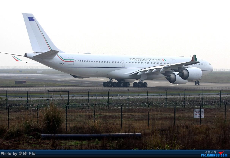 Re:[原创]拍飞机十年了!感谢CARNOC!感谢大家! AIRBUS A340-500 I-TALY 中国重庆江北国际机场