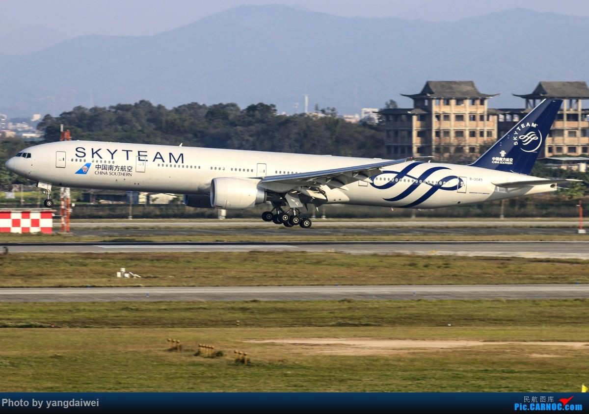 [原创]冒泡 BOEING 777-300ER B-2049 中国广州白云国际机场