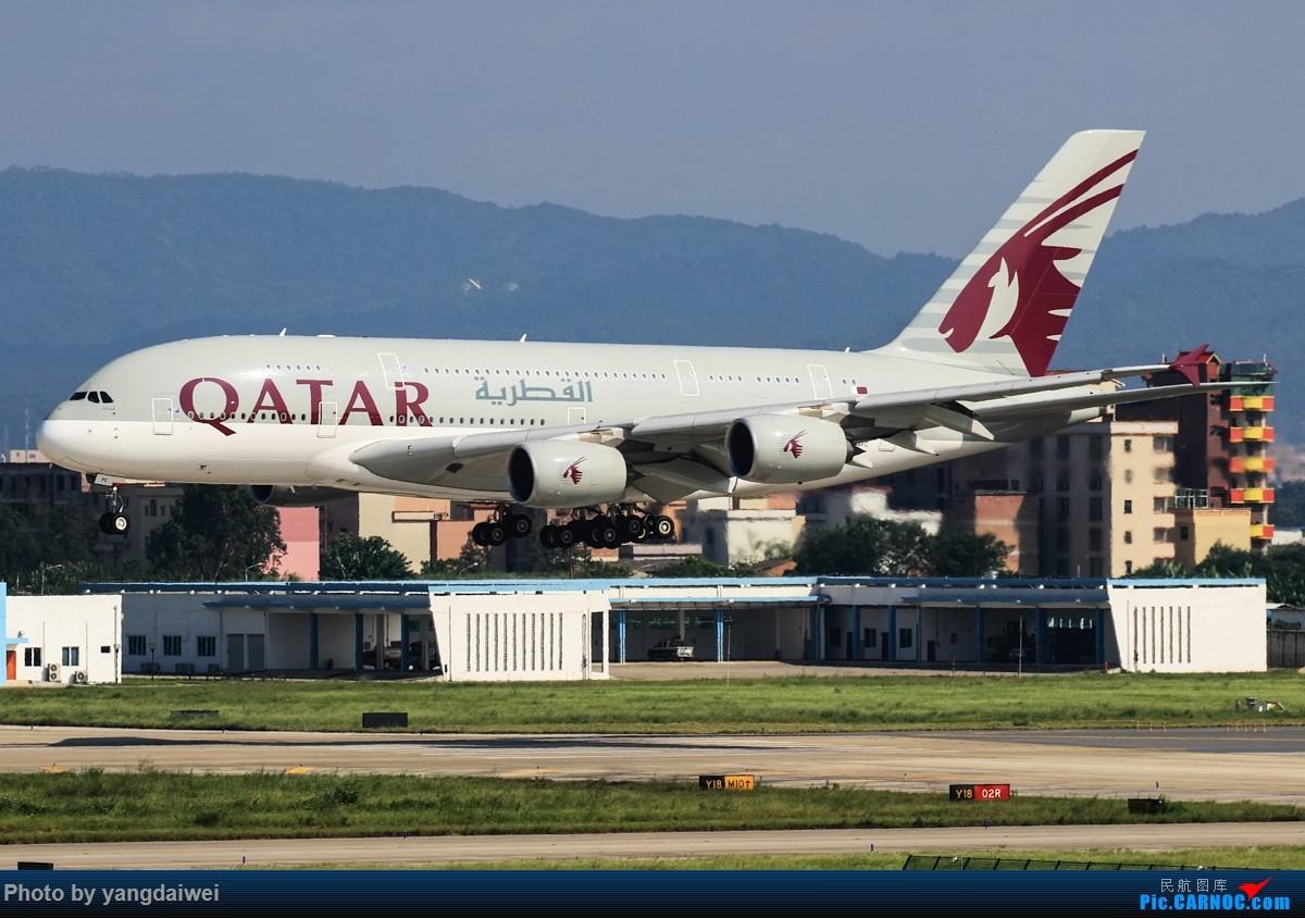 Re:[原创]冒泡 AIRBUS A380-800 A7-APC 中国广州白云国际机场