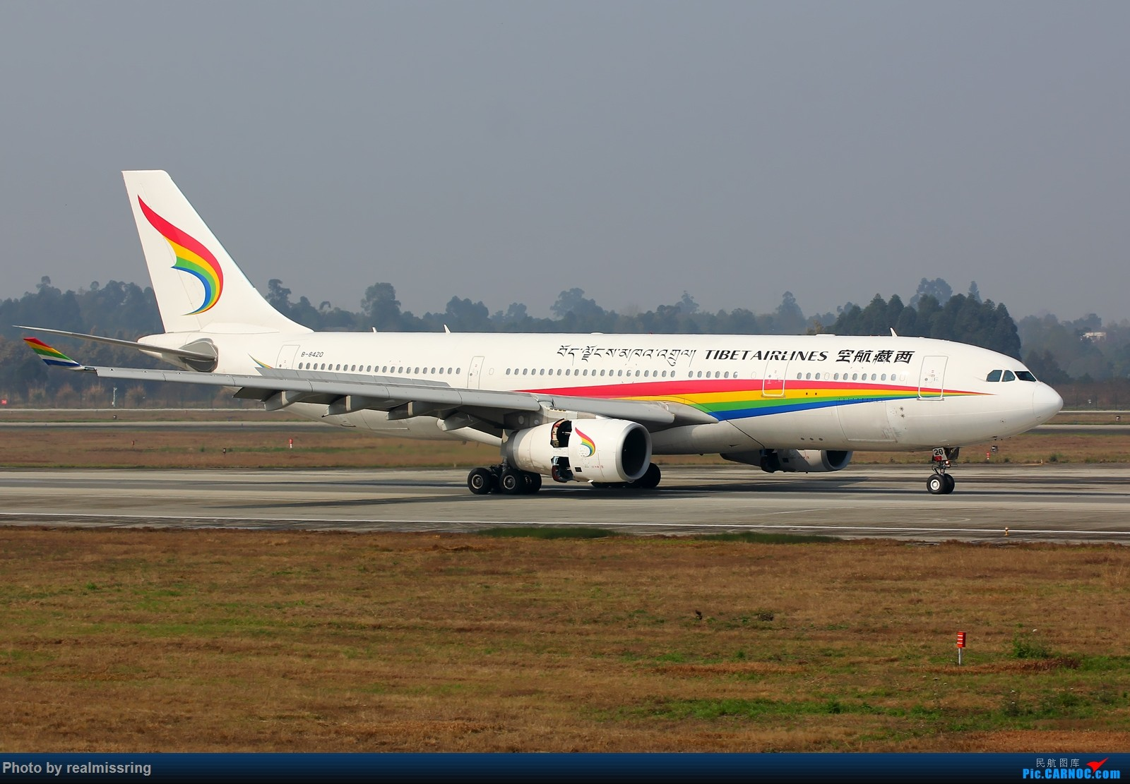Re:[原创]CARNOC成都空港缘分-西藏航空第一架A330 B-8420 AIRBUS A330-200 B-8420 中国成都双流国际机场
