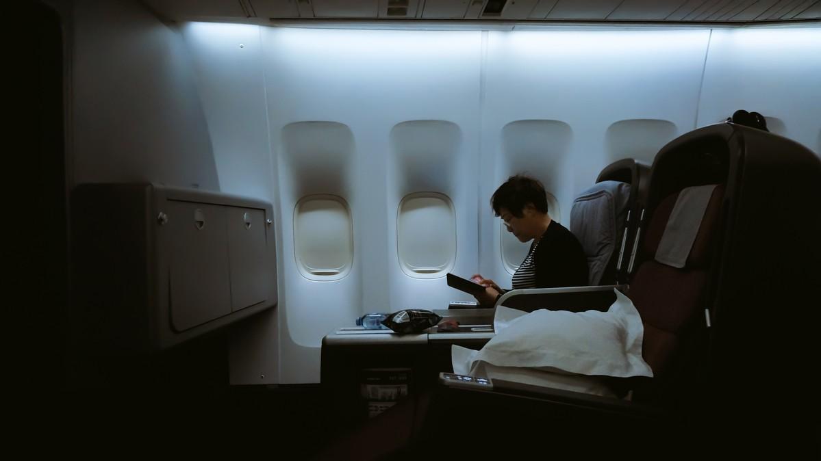 Re: [原创]【 环球十万公里 | 除了横跨太平洋 | 袋鼠国泰 | 续集 】 BOEING 747-400 VH-OJU 空中