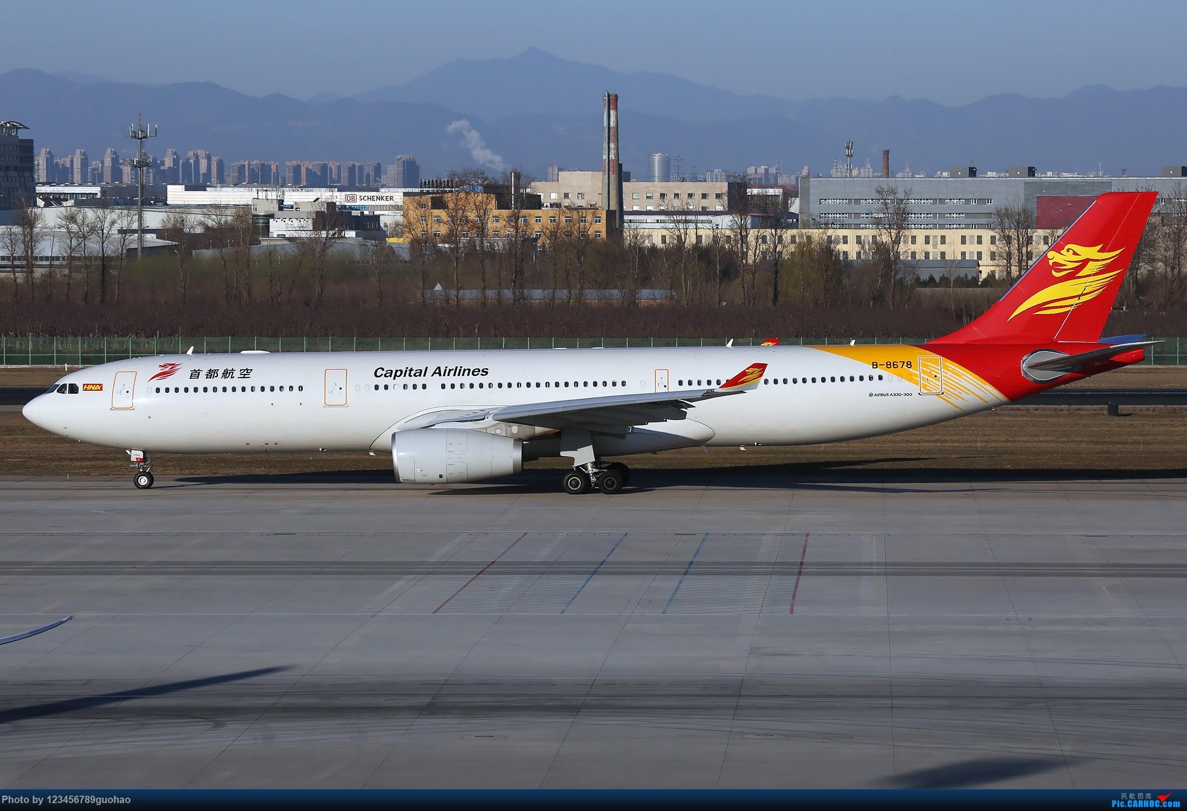 Re:[原创]一图党-首都333 AIRBUS A330-300 B-8678 北京首都国际机场