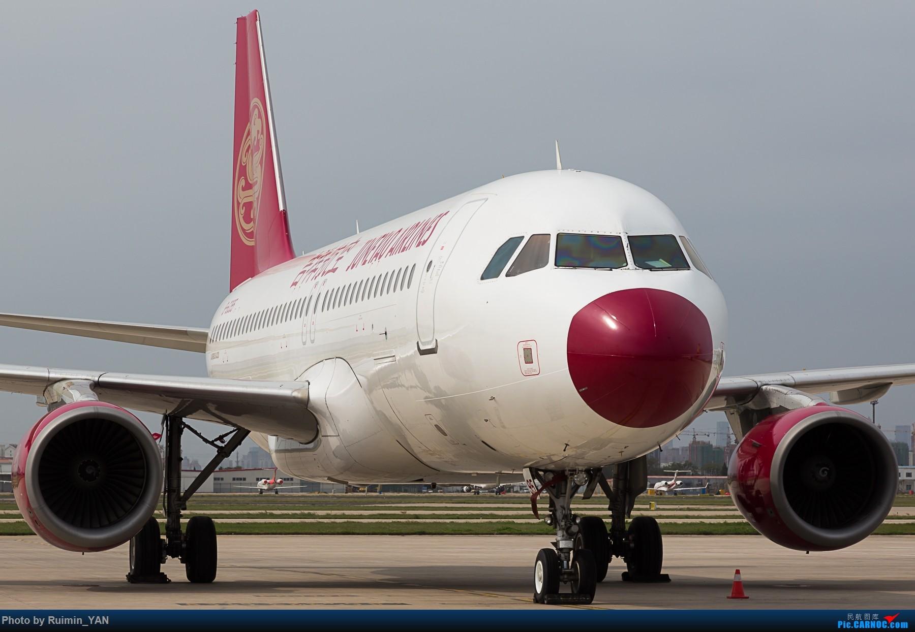 [原创]【TSN】吉祥航空(HO,Juneyao Airlines) 红鼻子 B-6395 A320 AIRBUS A320-200 B-6395 中国天津滨海国际机场