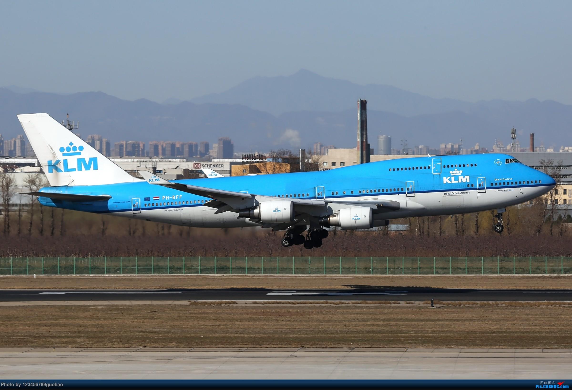 Re:[原创]PEK格林豪泰一组 BOEING 747-400 PH-BFF 北京首都国际机场