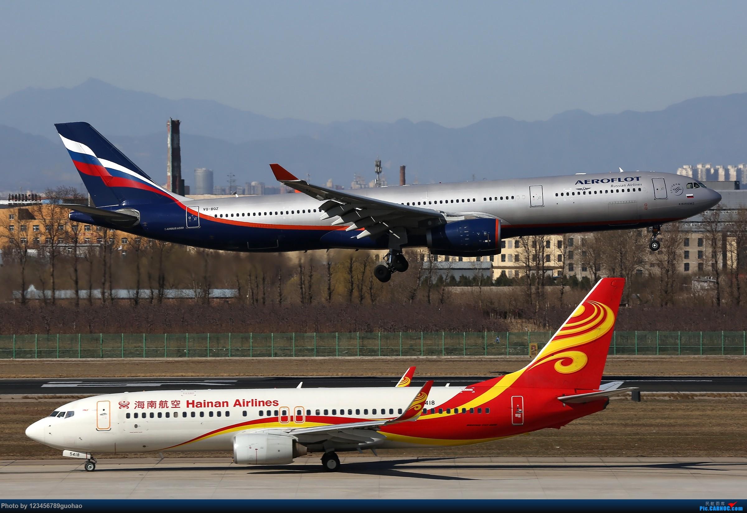 Re:[原创]PEK格林豪泰一组 AIRBUS A330-300 VQ-BQZ 北京首都国际机场