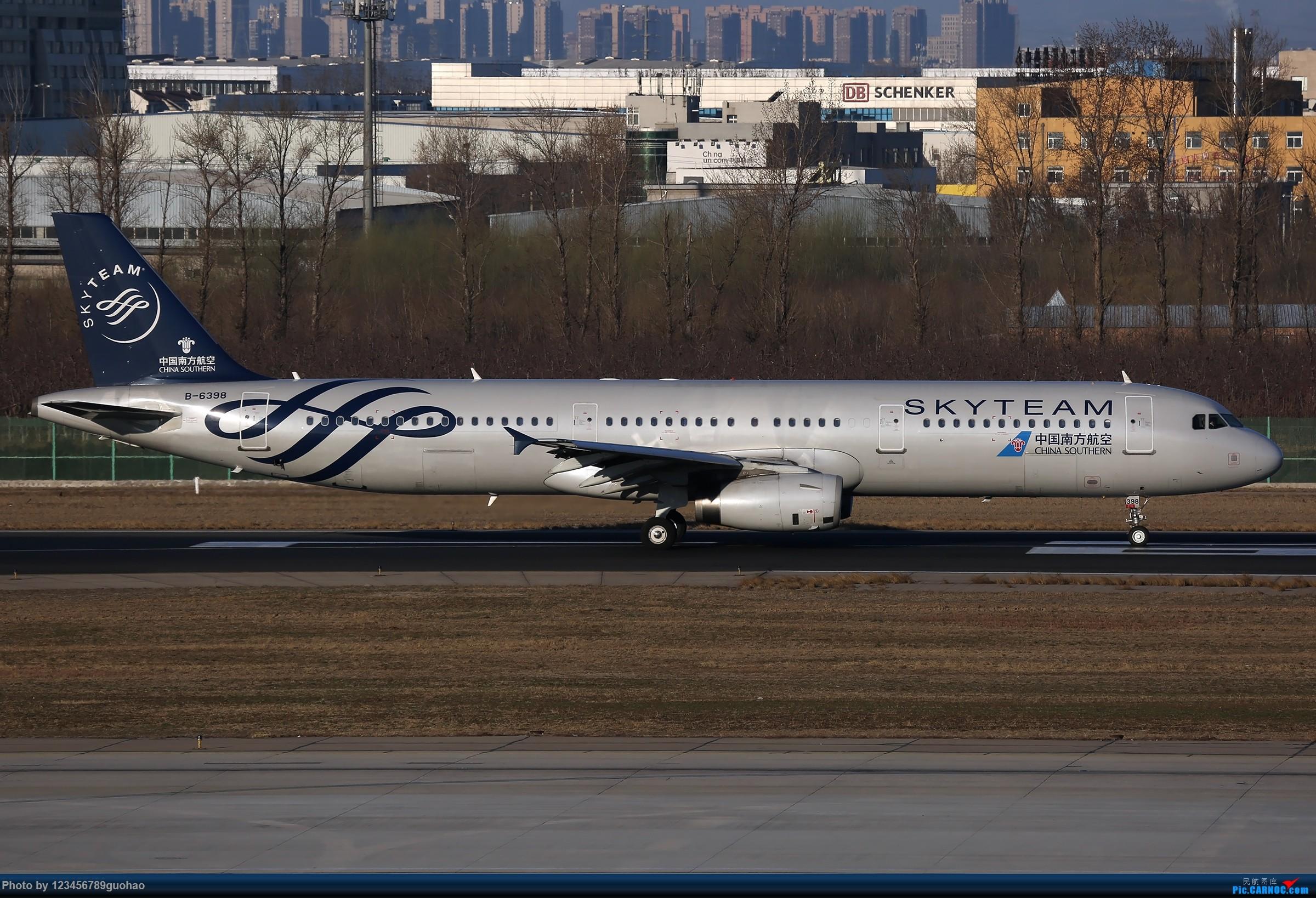 Re:[原创]PEK格林豪泰一组 AIRBUS A321-200 B-6398 北京首都国际机场