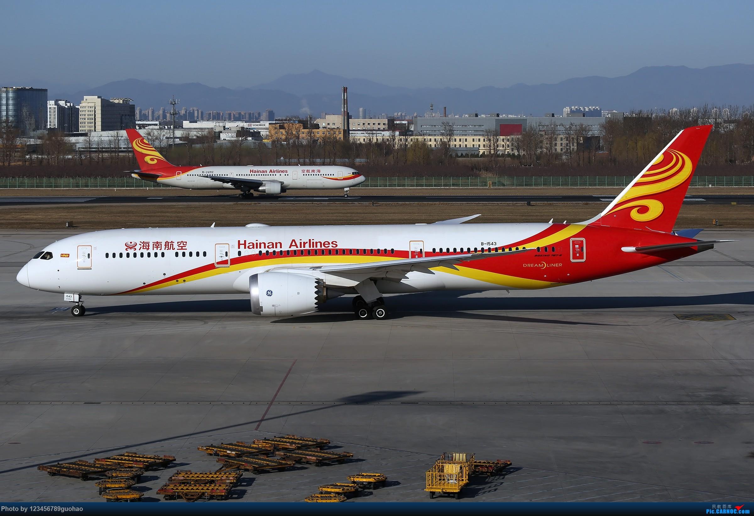 Re:[原创]PEK格林豪泰一组 BOEING 787-9 B-1543 北京首都国际机场
