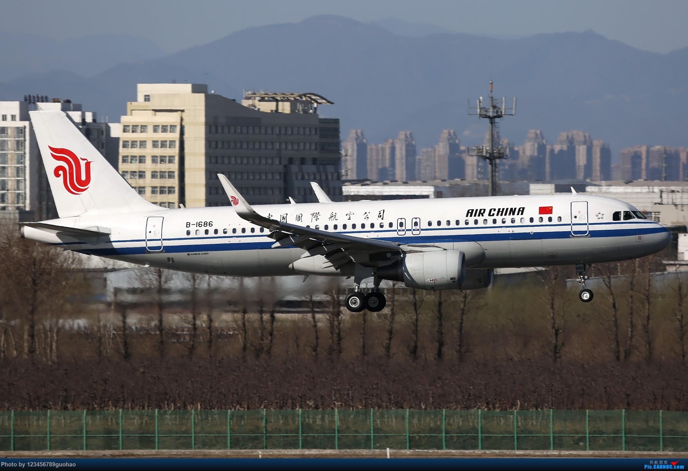 Re:[原创]PEK格林豪泰一组 AIRBUS A320-200 B-1686 北京首都国际机场