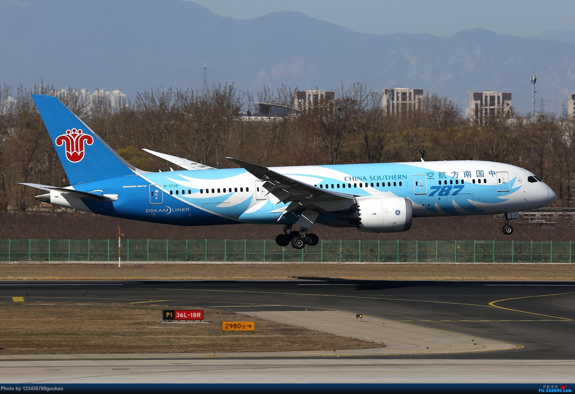 Re:[原创]PEK格林豪泰一组 BOEING 787-8 B-2726 北京首都国际机场