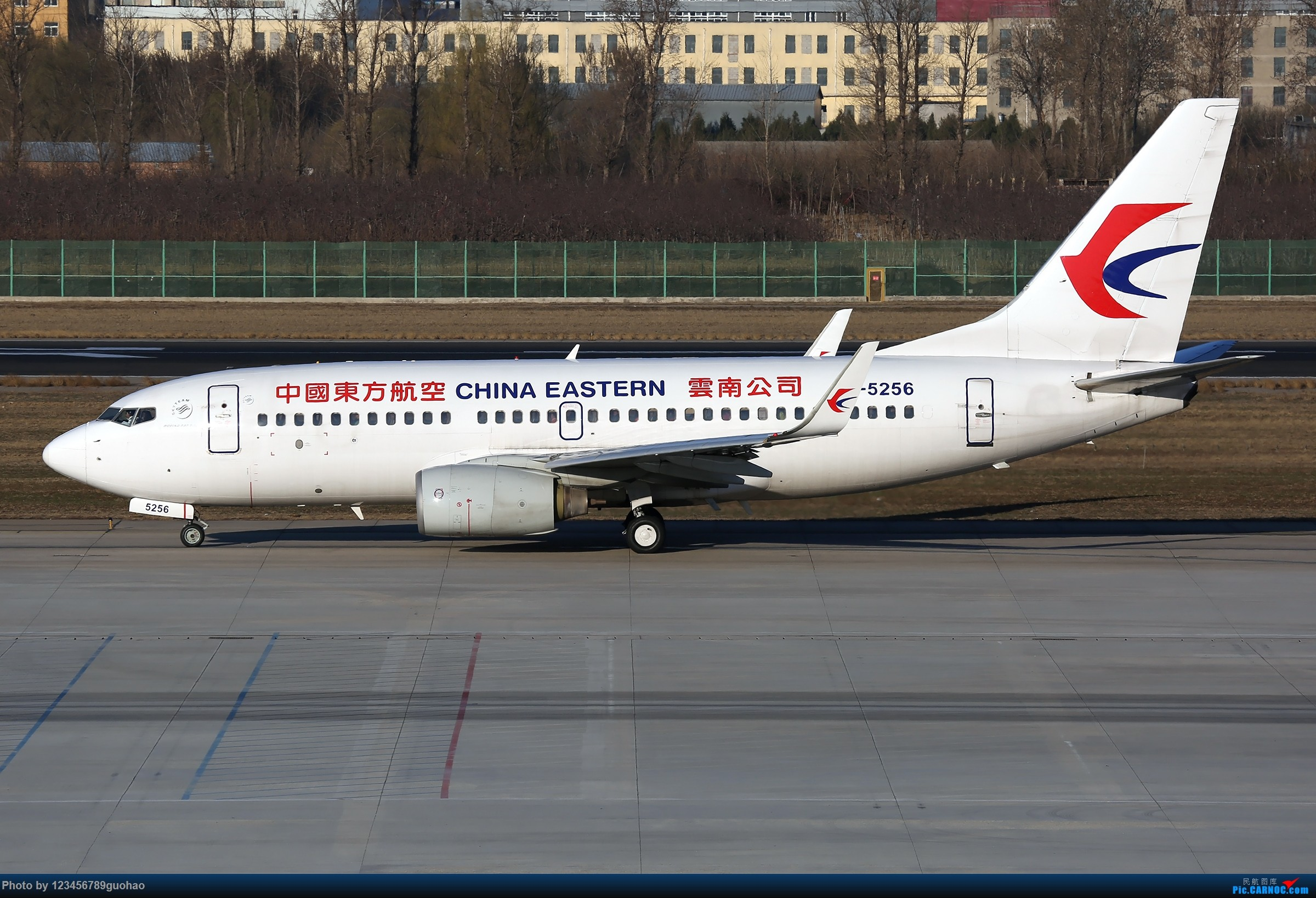 Re:[原创]PEK格林豪泰一组 BOEING 737-700 B-5256 北京首都国际机场