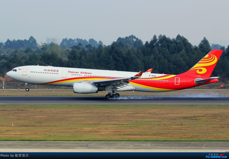 Re:[原创]CTU 02R降落航迹+擦烟 AIRBUS A330-300 B-8016 中国成都双流国际机场