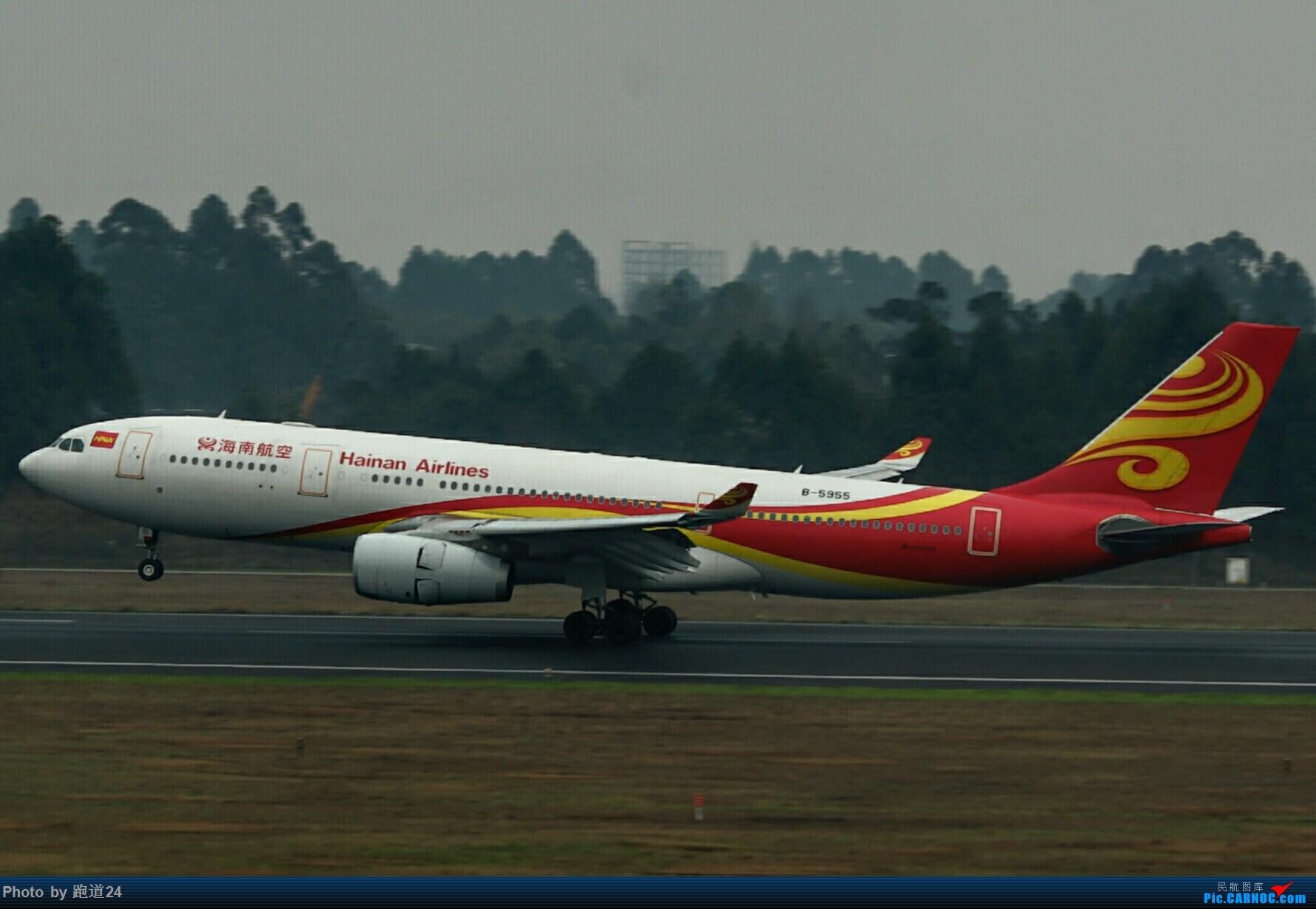 [原创]冒个泡,嘻嘻😄 AIRBUS A330-200 B-5955 中国成都双流国际机场