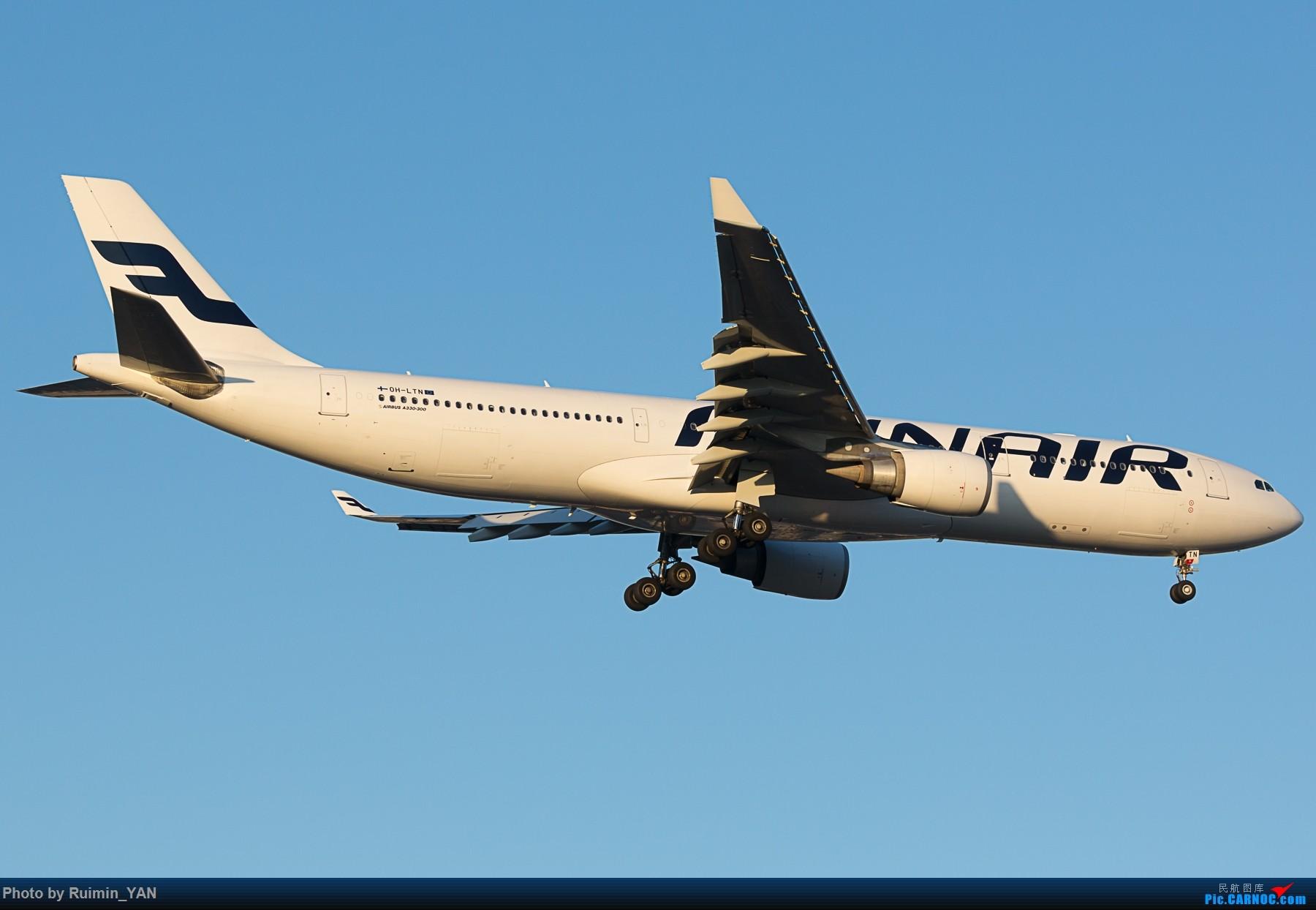 Re:[原创]【PEK】芬兰航空(AY,Finnair) OH-LTN A333 AIRBUS A330-300 OH-LTN 中国北京首都国际机场