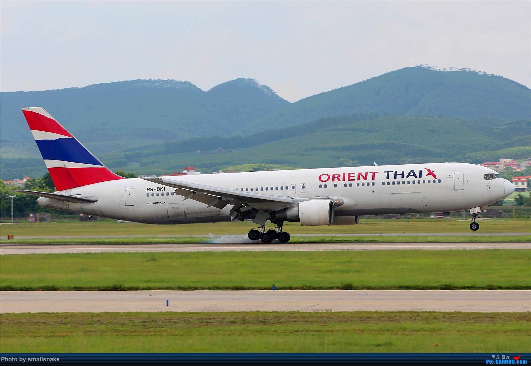 [原创]泰国东方航空B767一组... 767 HS-BKI 南宁吴圩国际机场