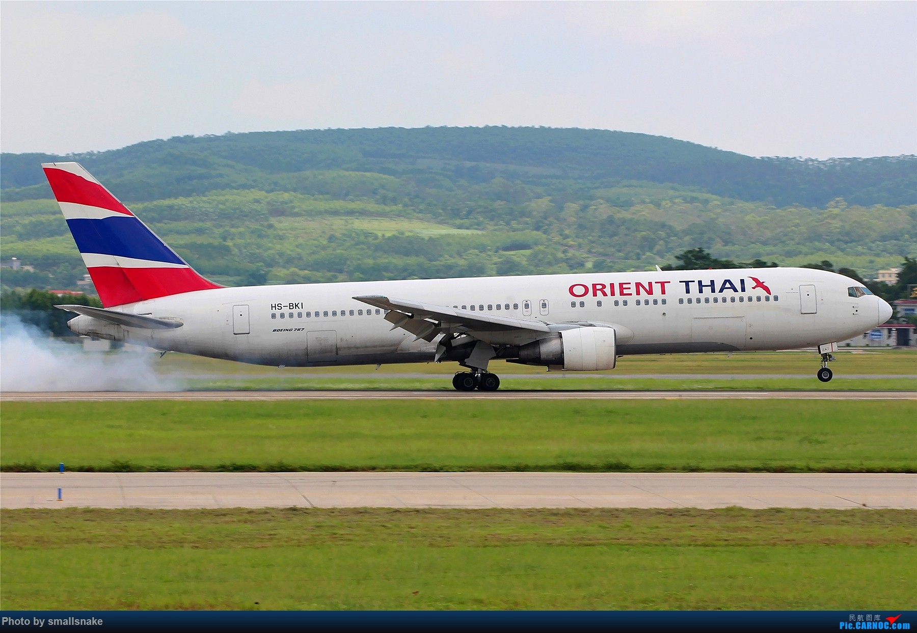 Re:[原创]泰国东方航空B767一组... 767 HS-BKI 南宁吴圩国际机场