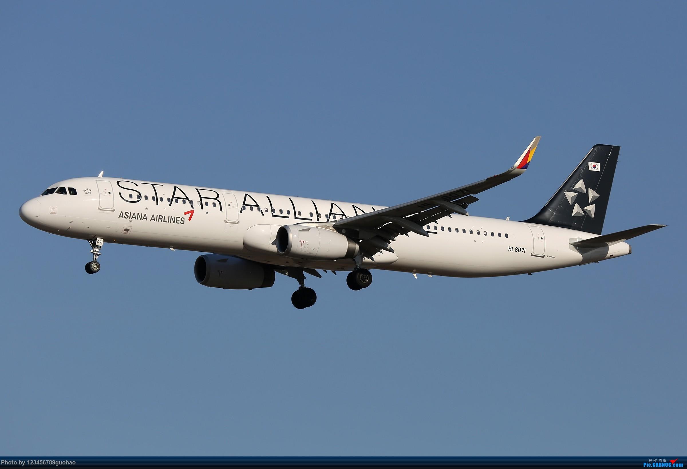 [原创]一图党-3.21 AIRBUS A321 HL8071 北京首都国际机场