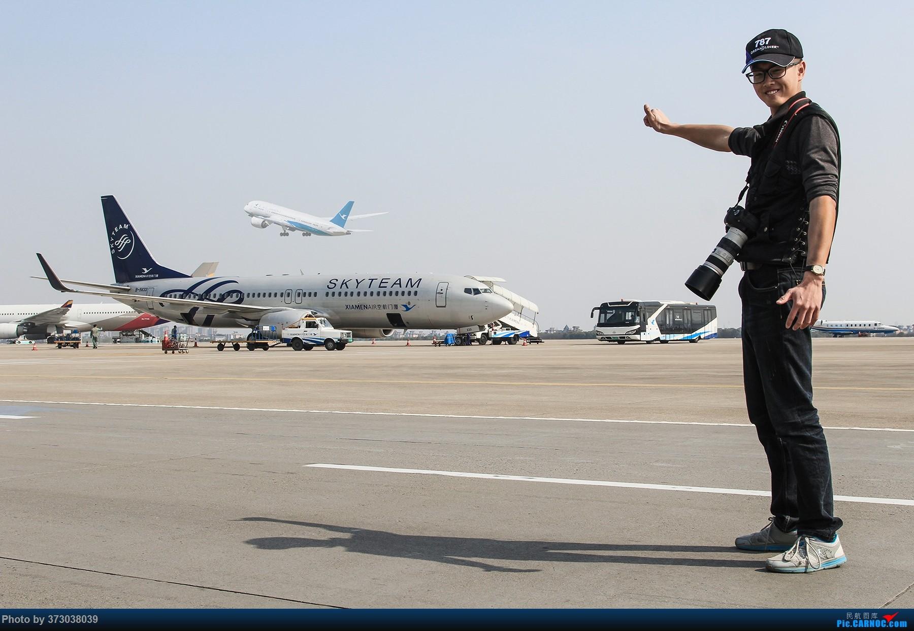 Re:一航白鹭上青天,HGH杭州萧山机场 天合联盟 与 厦航787