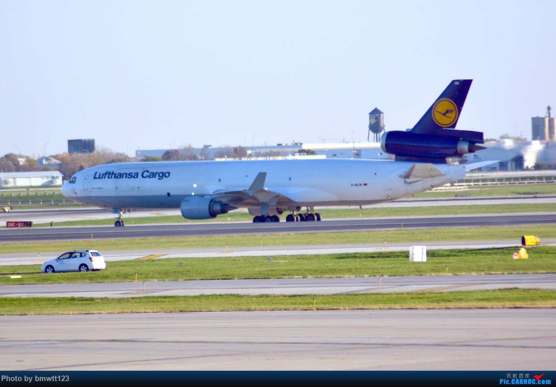 Re:[原创]【ORD芝加哥】迟来的美国游记之芝加哥转机,碴图谨入 MD-11 D-ALCK 芝加哥奥黑尔国际机场