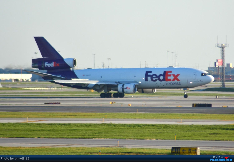 Re:[原创]【ORD芝加哥】迟来的美国游记之芝加哥转机,碴图谨入 MD-10 N303FE 芝加哥奥黑尔国际机场