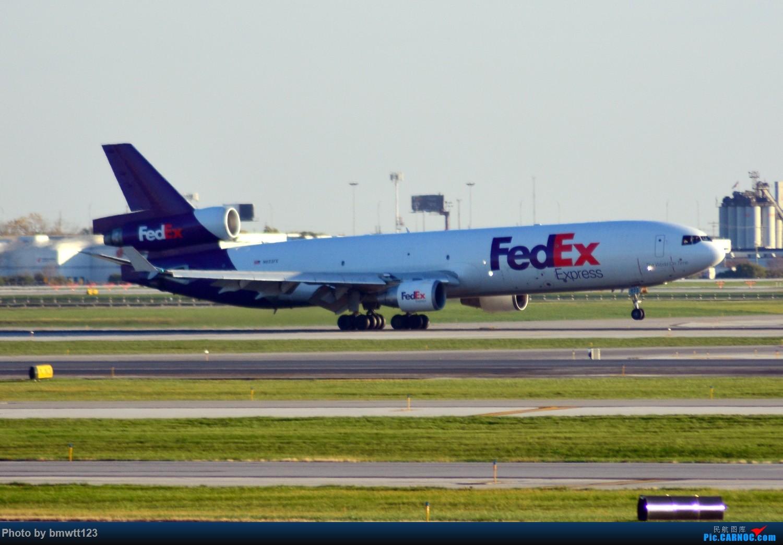 Re:[原创]【ORD芝加哥】迟来的美国游记之芝加哥转机,碴图谨入 MD-10 N623FE 芝加哥奥黑尔国际机场