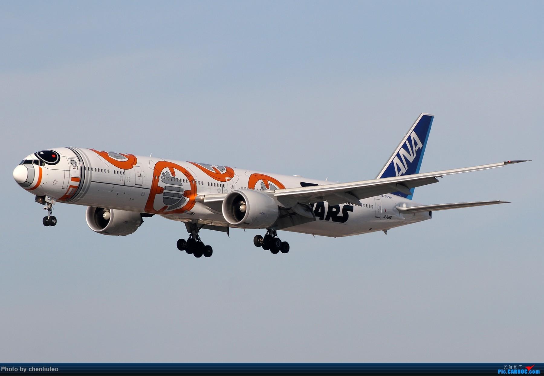 [原创]【北美飞友会】全日空星球大战BB-8黄昏中降落LAX 以及一些杂图 BOEING 777-300ER JA789A 美国洛杉矶机场