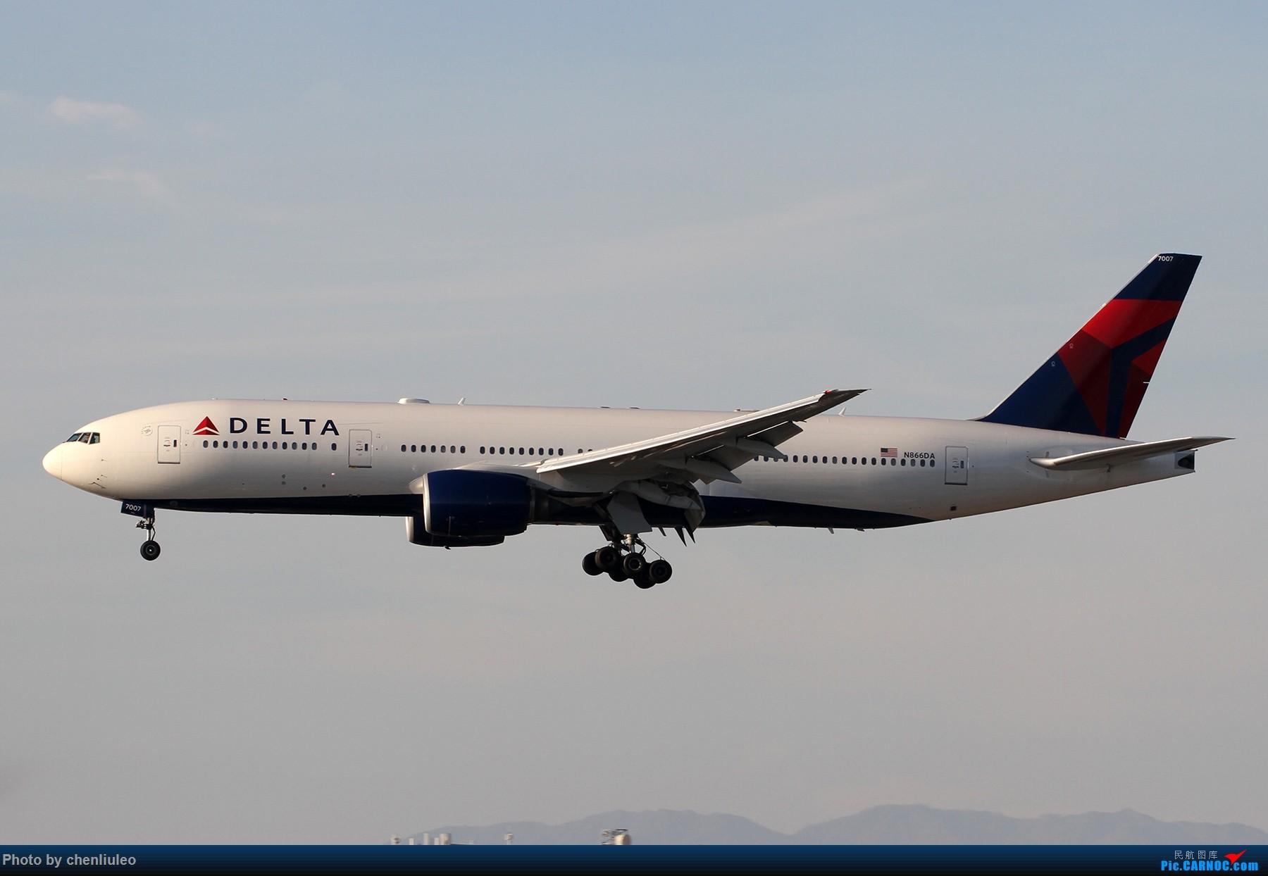 Re:[原创]【北美飞友会】全日空星球大战BB-8黄昏中降落LAX 以及一些杂图 BOEING 777-200ER N866DA 美国洛杉矶机场