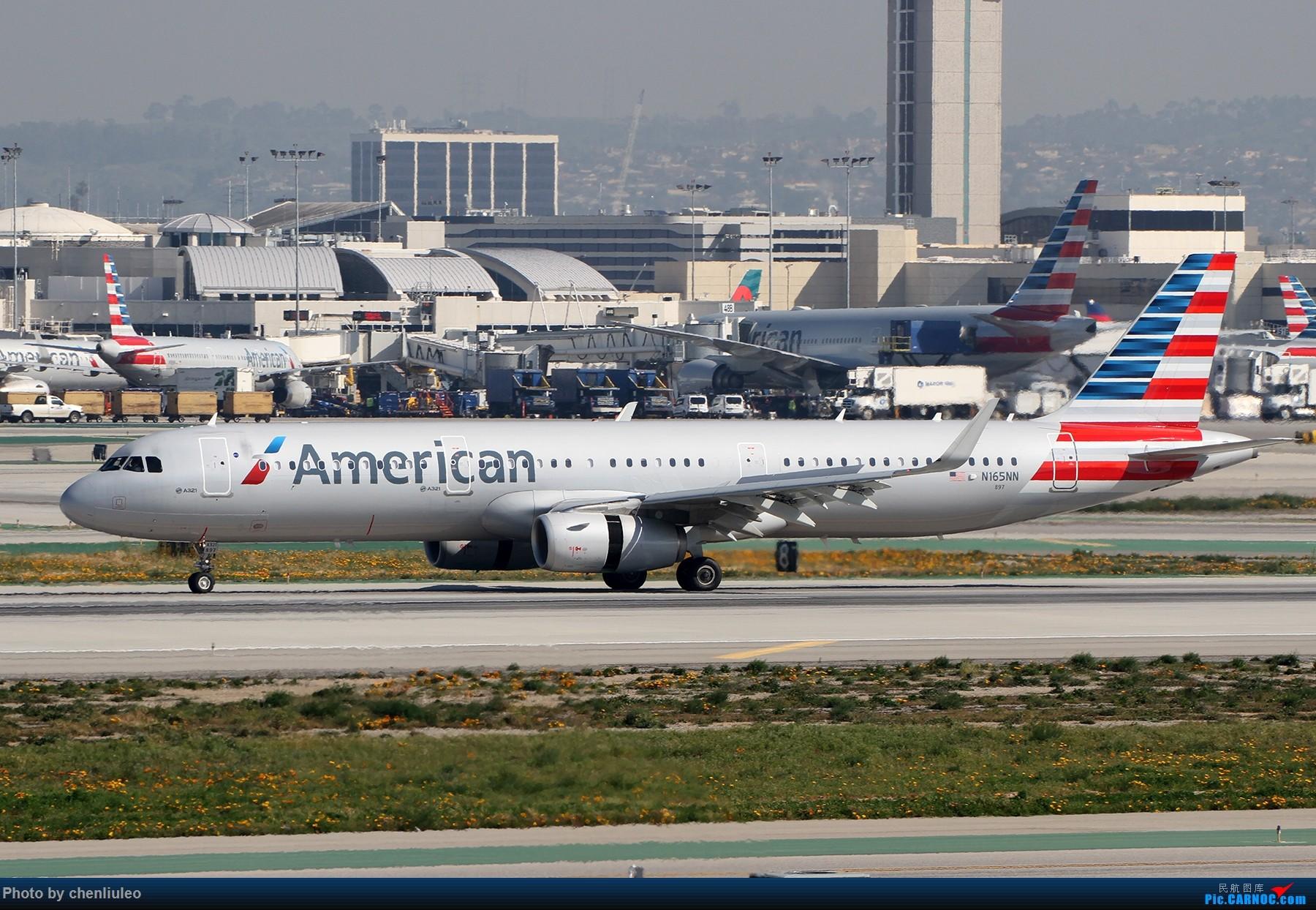 Re:[原创]【北美飞友会】全日空星球大战BB-8黄昏中降落LAX 以及一些杂图 AIRBUS A321-200 N165NN 美国洛杉矶机场