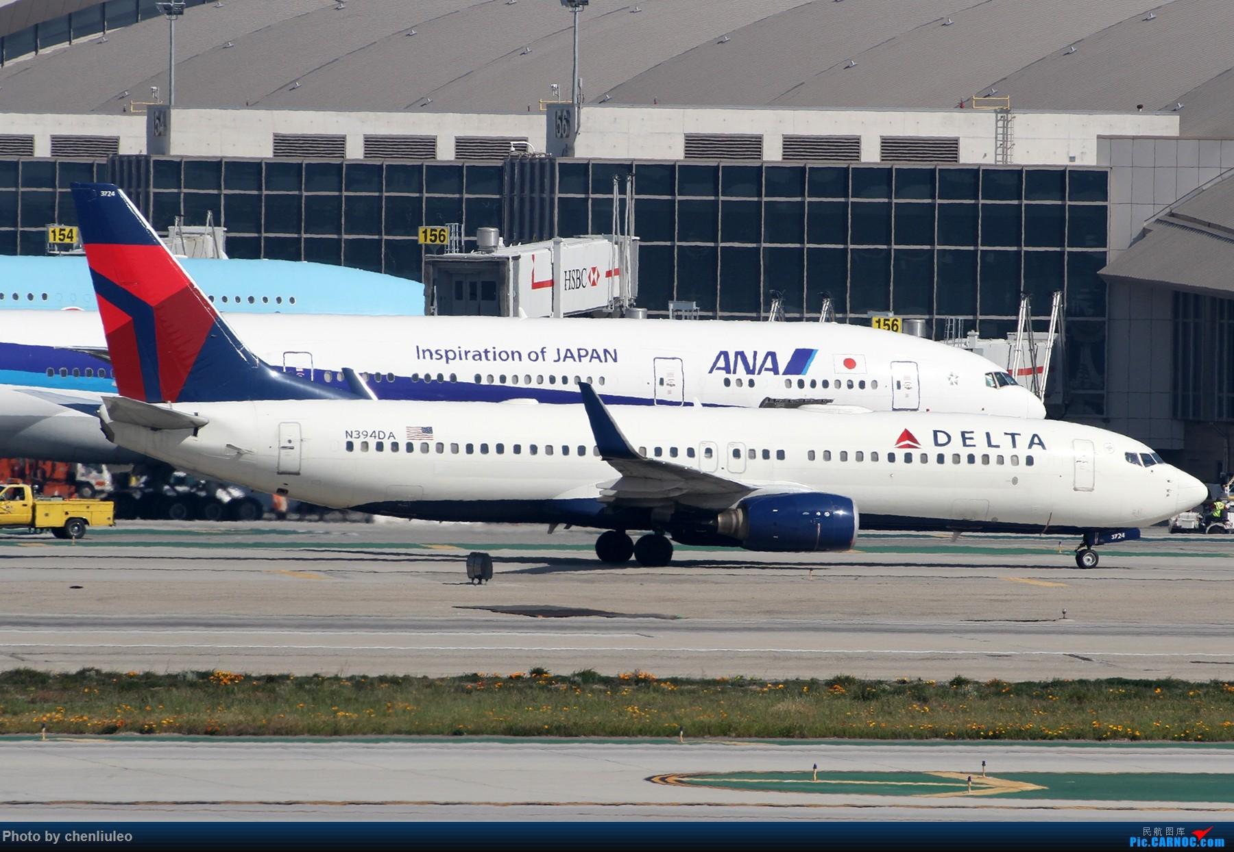 Re:[原创]【北美飞友会】全日空星球大战BB-8黄昏中降落LAX 以及一些杂图 BOEING 737-800 N394DA 美国洛杉矶机场
