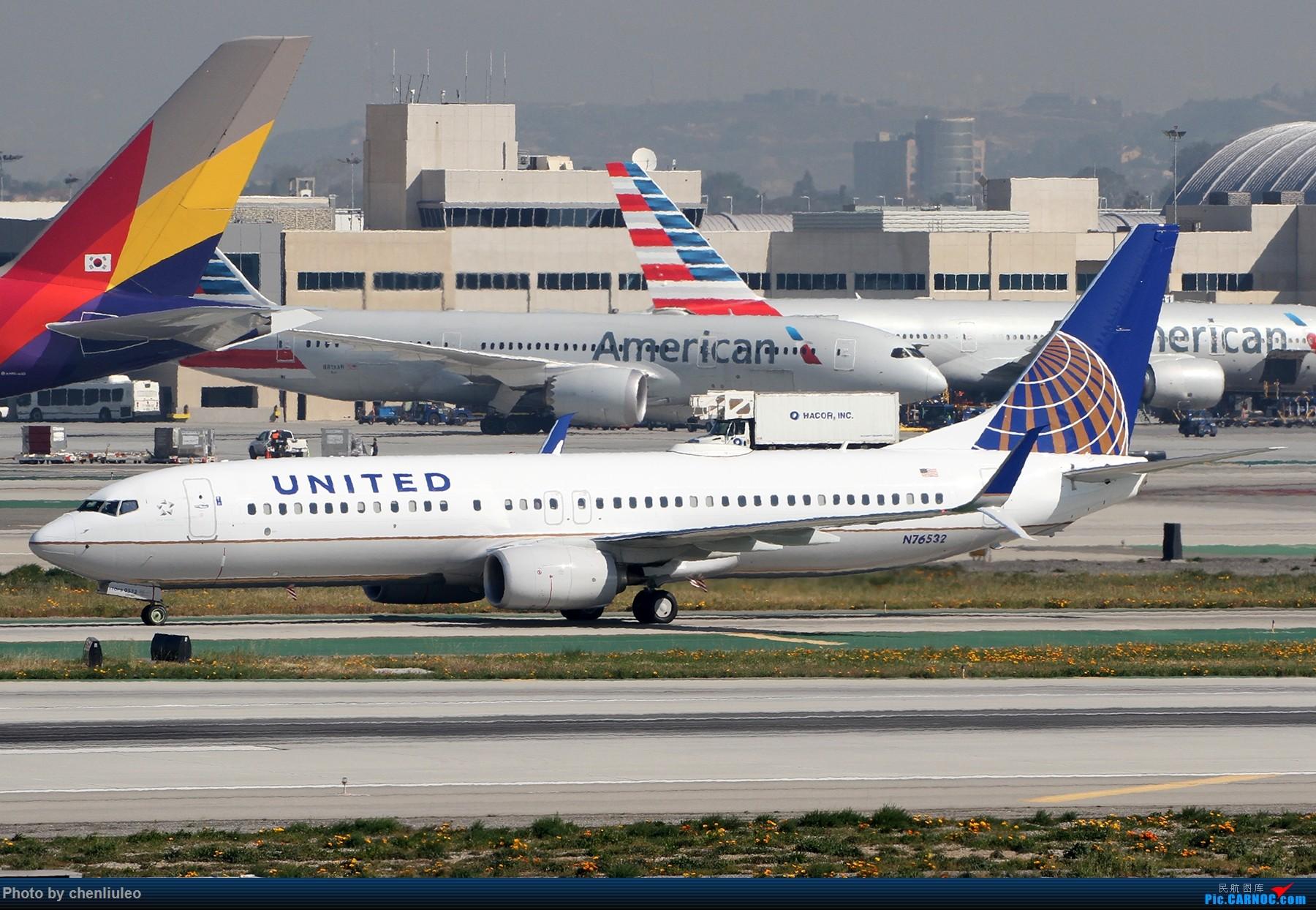 Re:[原创]【北美飞友会】全日空星球大战BB-8黄昏中降落LAX 以及一些杂图 BOEING 737-800 N76532 美国洛杉矶机场