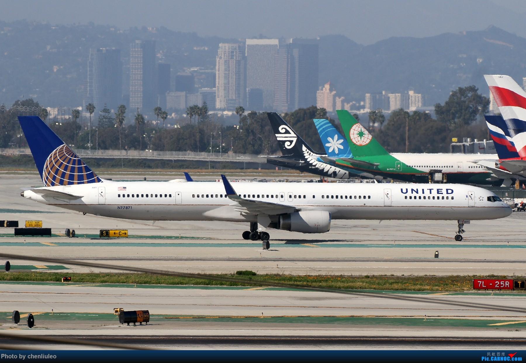 Re:[原创]【北美飞友会】全日空星球大战BB-8黄昏中降落LAX 以及一些杂图 BOEING 757-300 N77871 美国洛杉矶机场