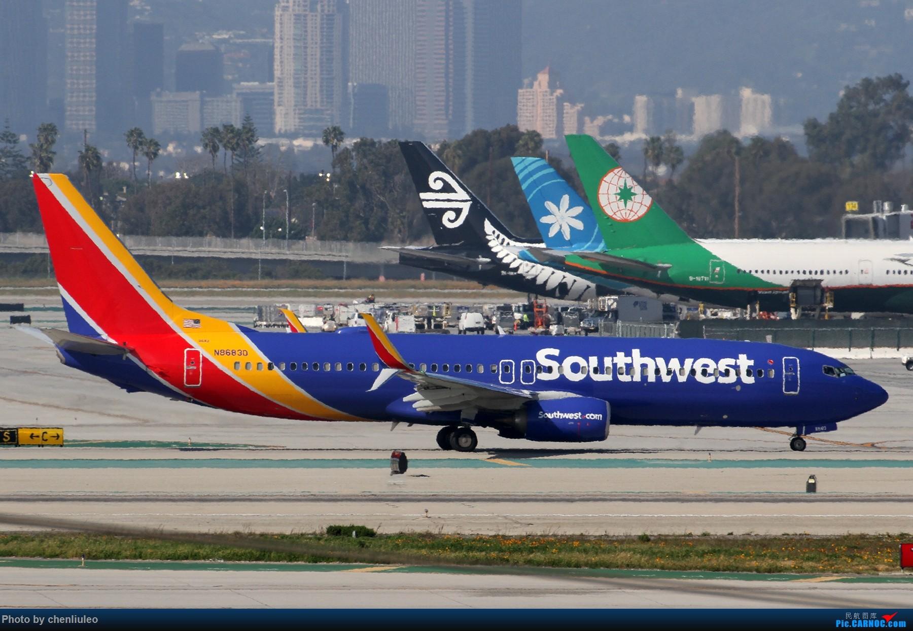 Re:[原创]【北美飞友会】全日空星球大战BB-8黄昏中降落LAX 以及一些杂图 BOEING 737-800 N8683D 美国洛杉矶机场