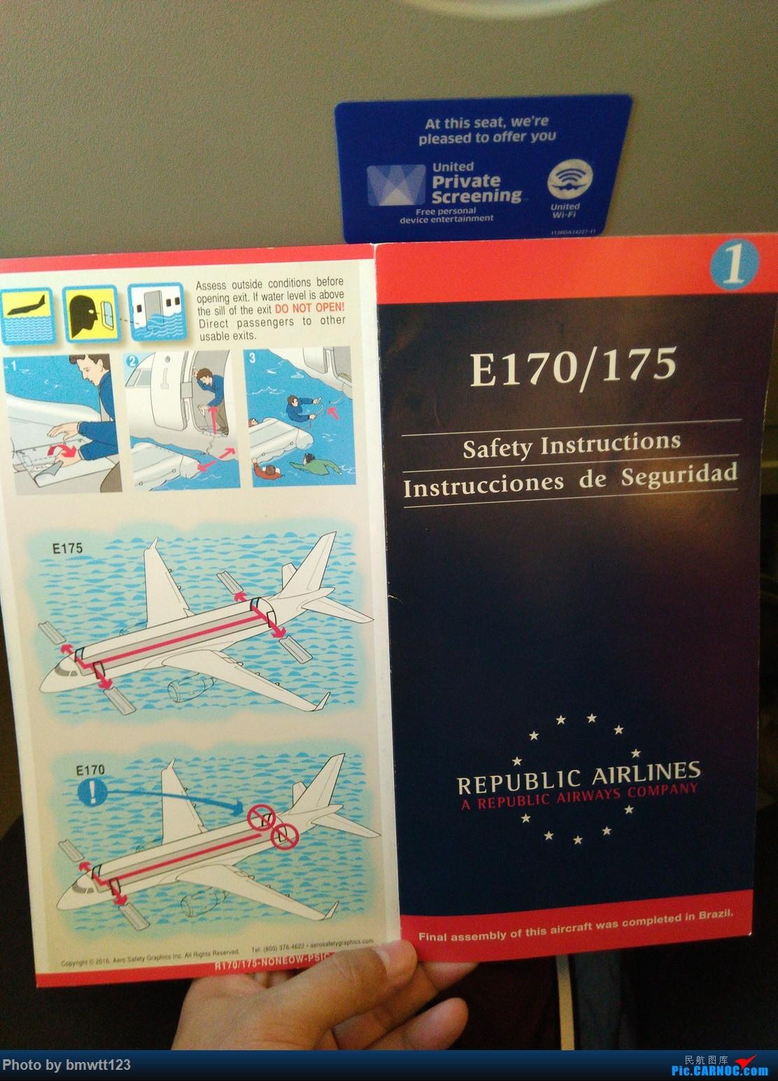 Re:[原创]【ORD芝加哥】迟来的美国游记之芝加哥转机,碴图谨入 ERJ-170 N633RW 芝加哥奥黑尔国际机场