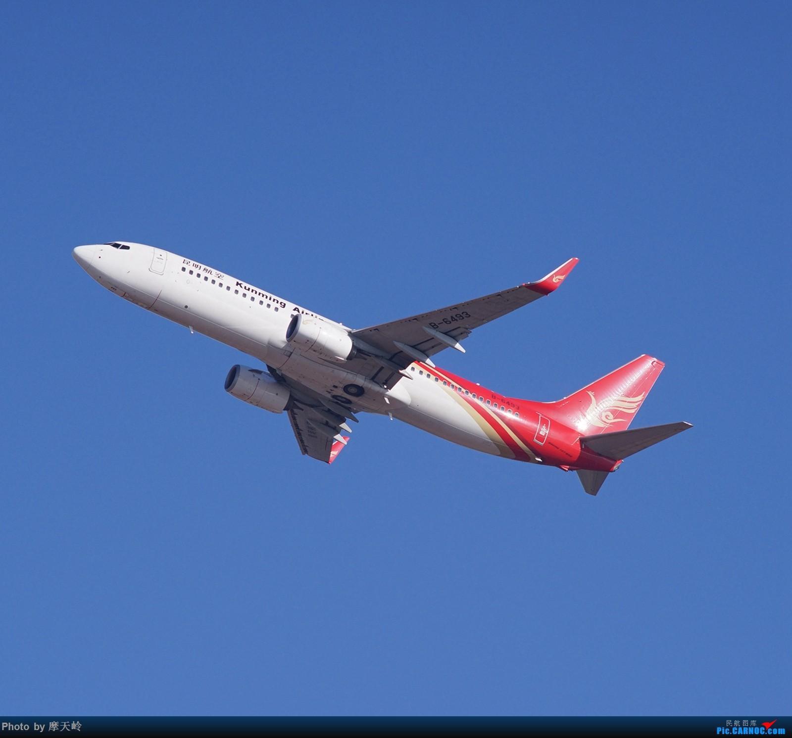 [原创]【昆明长水】内场拍拍拍 BOEING 737-800 B-6493 中国昆明长水国际机场