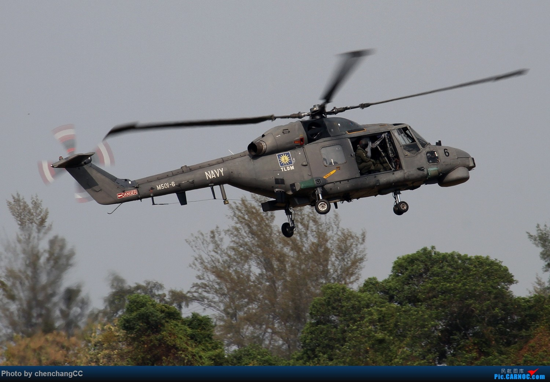Re:【chenchangCC】兰卡威航展之超级山猫 WESTLAND LYNX M501-6 马来西亚兰卡威机场