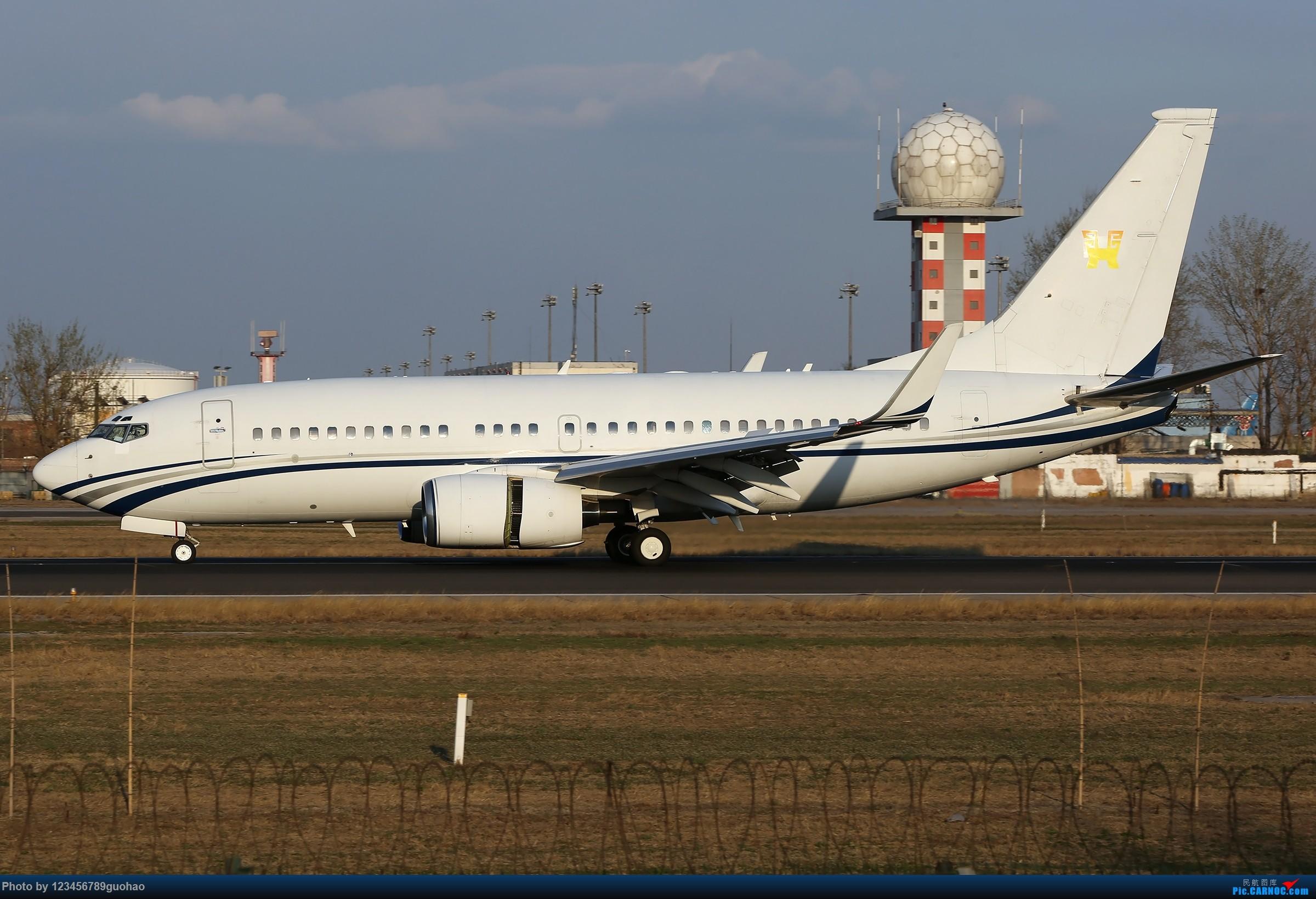 Re:[原创]PEK铁匠营组图 BOEING BBJ N90R 北京首都国际机场