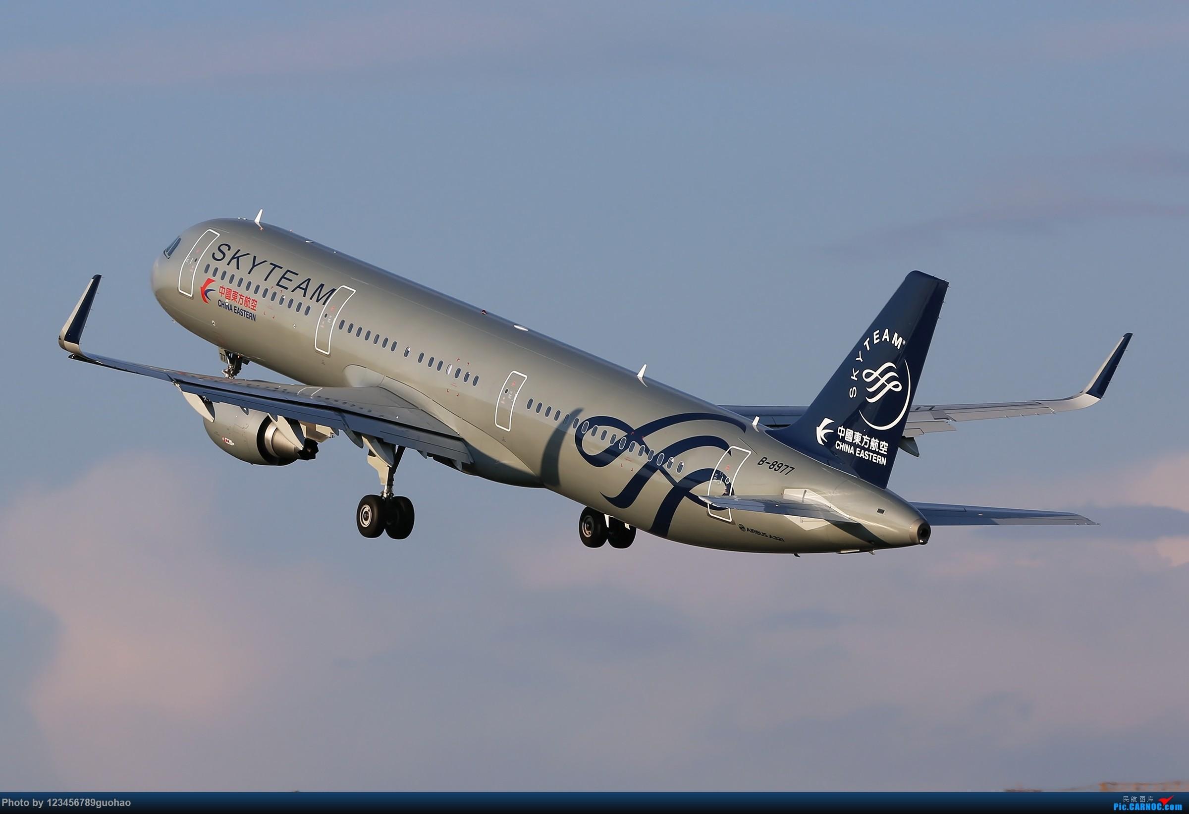 [原创]假SKYTEAM AIRBUS A321-200 B-8977 北京首都国际机场