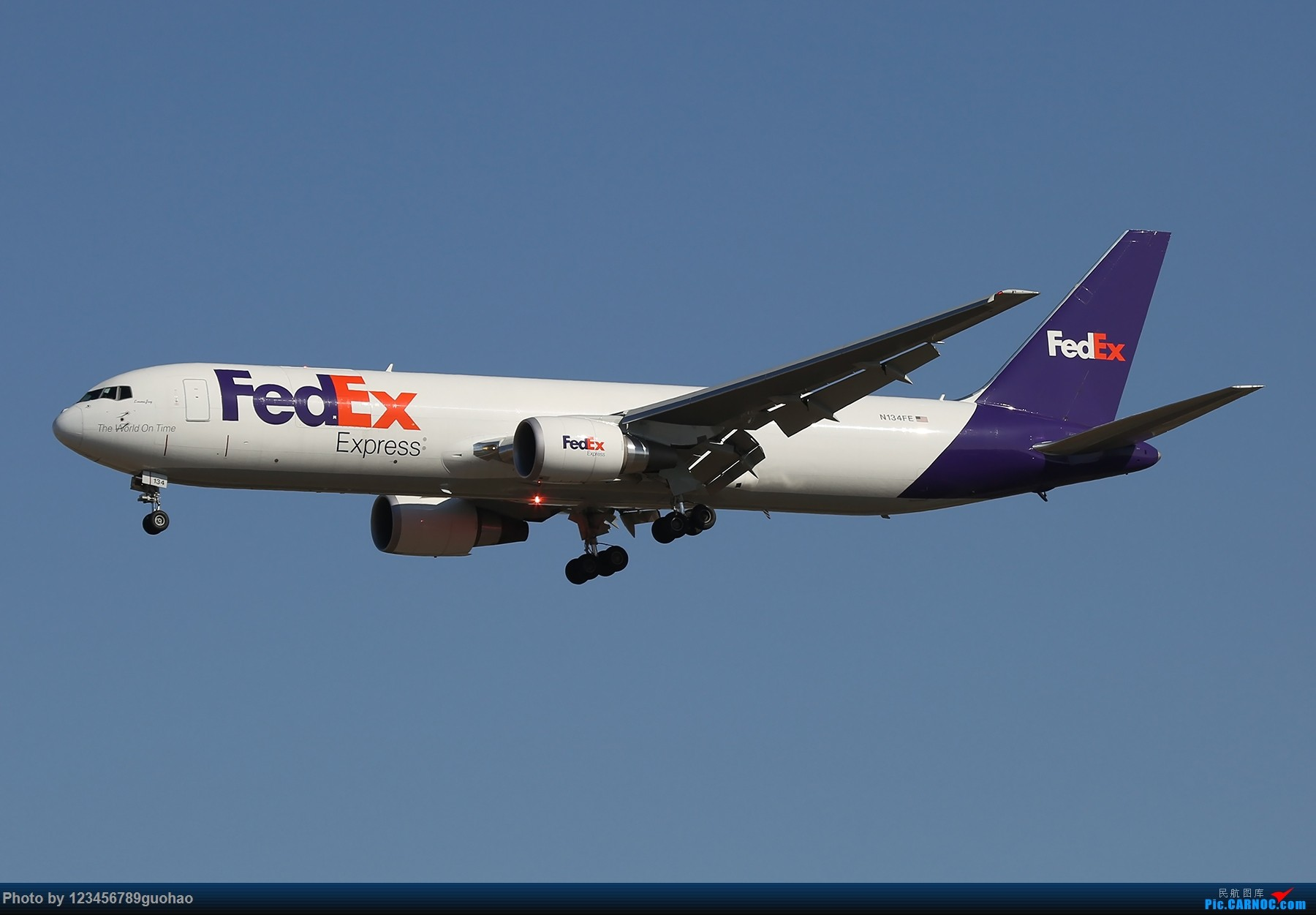 Re:[原创]PEK1800*1200一批 BOEING 767 N134FE 北京首都国际机场