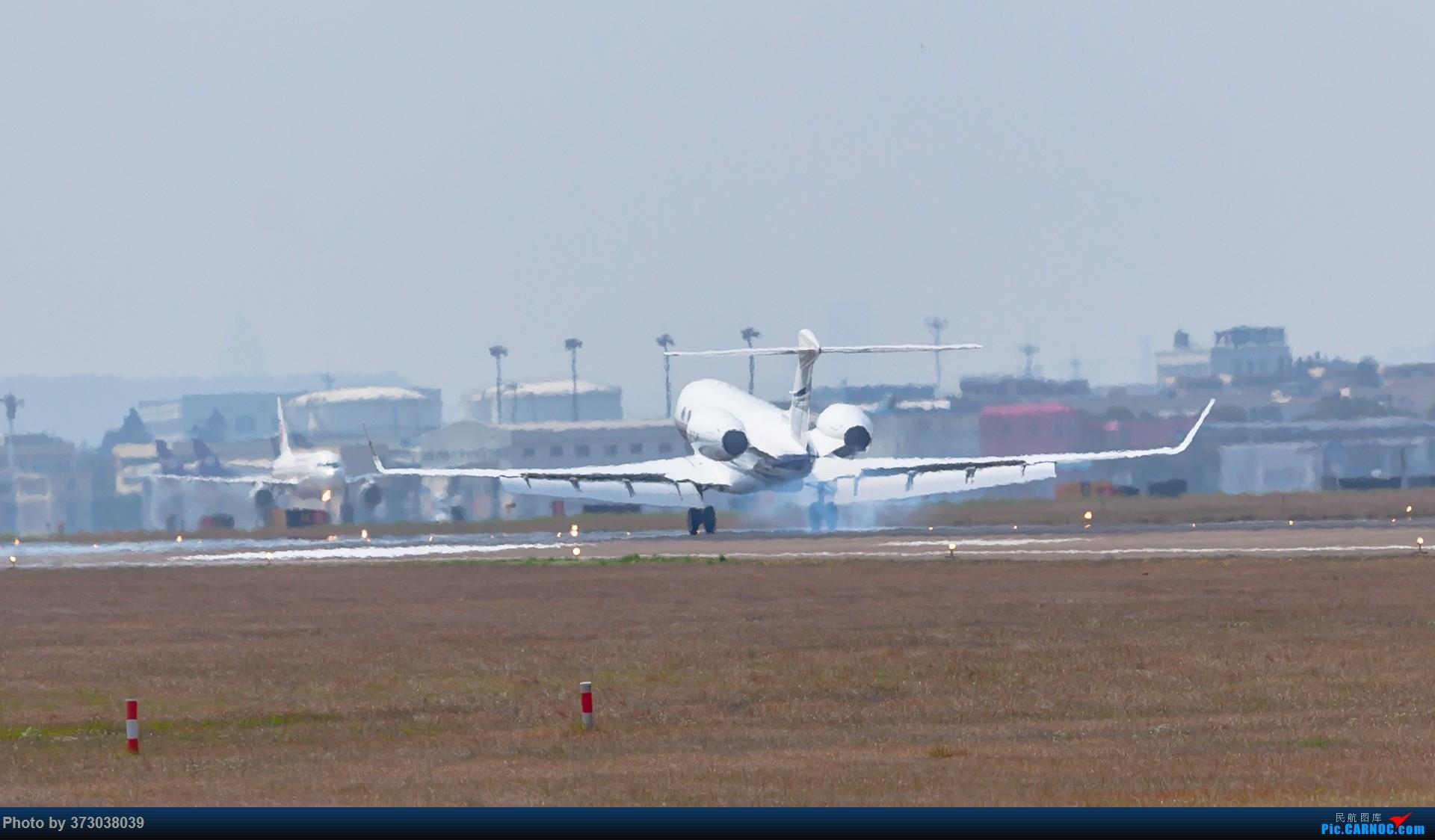 Re:[原创]HGH杭州萧山国际机场 落地的 公务机大佬们 湾流 GULFSTREAM G650 VP-CJR 中国杭州萧山国际机场