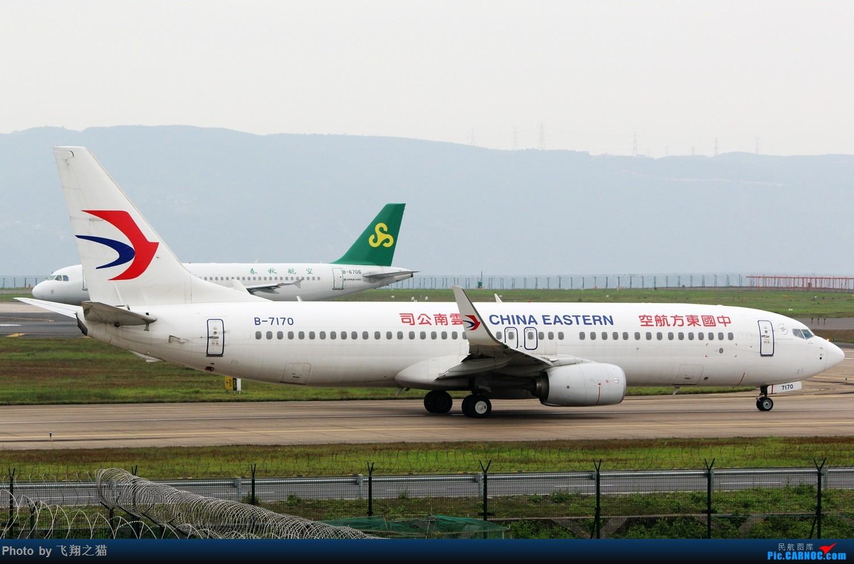 Re:[原创]CKG拍机(3月杂图一组) BOEING 737-800 B-7170 重庆江北国际机场