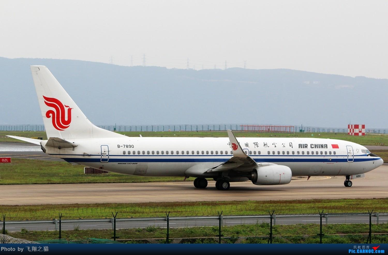 Re:[原创]CKG拍机(3月杂图一组) BOEING 737-800 B-7890 重庆江北国际机场