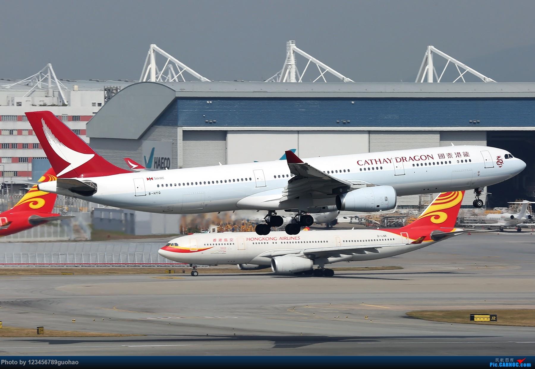 [原创]一图党-3.30 AIRBUS A330-300 B-HYQ 香港赤鱲角国际机场