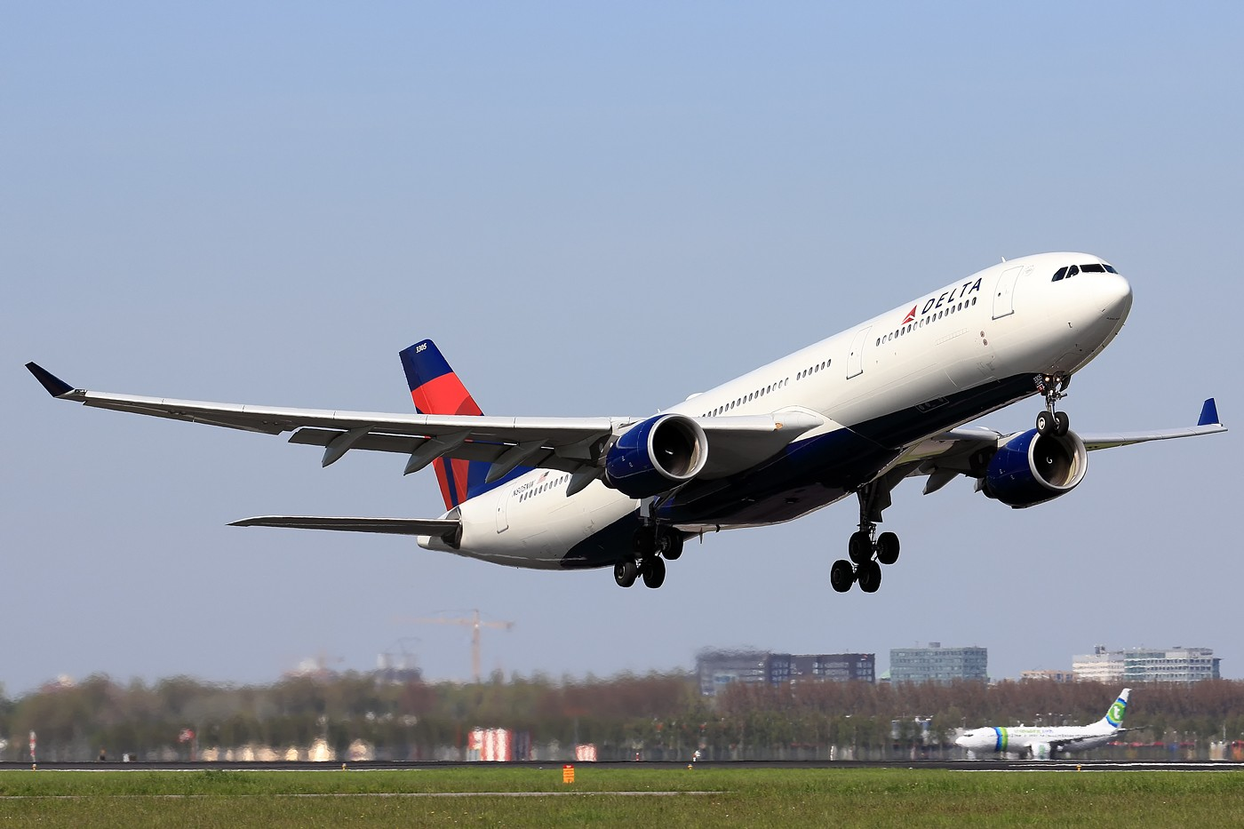 Re:[原创]【AMS】听说今天要发330?? AIRBUS A330-300 N805NW 荷兰阿姆斯特丹史基浦机场