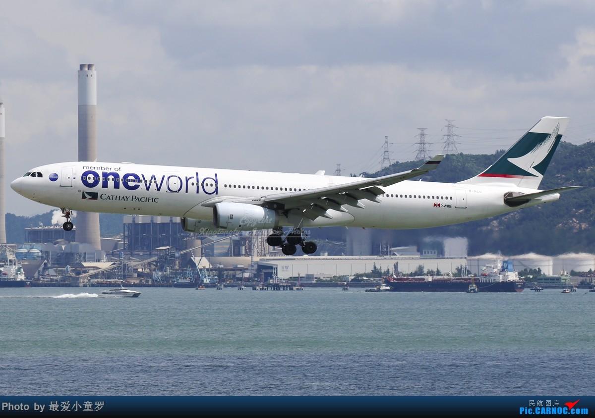 [原创]3月30日,发空客A330 AIRBUS A330-300 B-HLU 中国香港国际机场