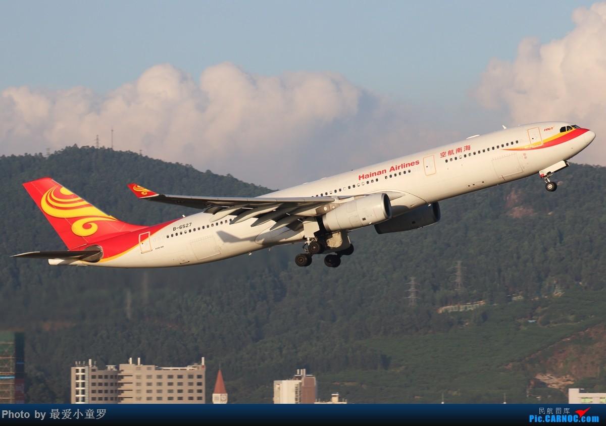 Re:[原创]3月30日,发空客A330 AIRBUS A330-300 B-6527 中国深圳宝安国际机场