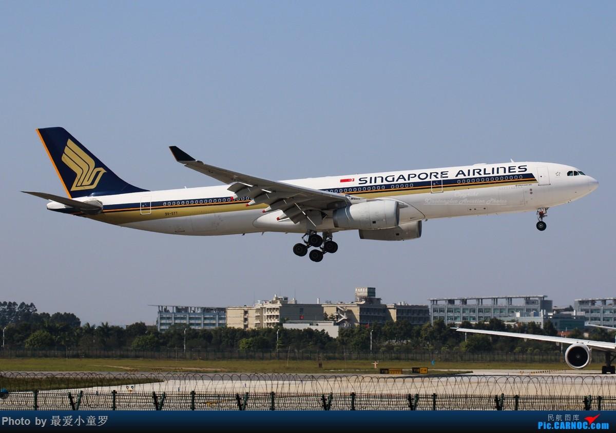 Re:[原创]3月30日,发空客A330 AIRBUS A330-300 9V-STT 中国广州白云国际机场