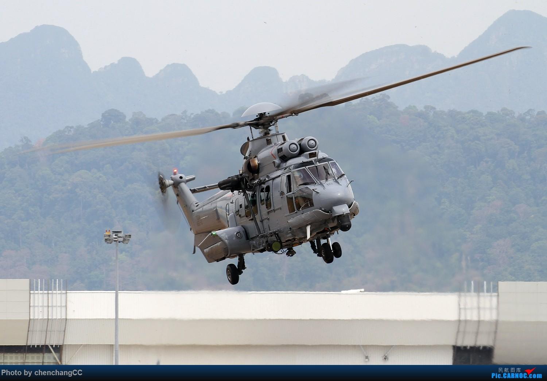 [原创]【兰卡威】EC-725很不错 EC-725 M55-10 马来西亚兰卡威机场