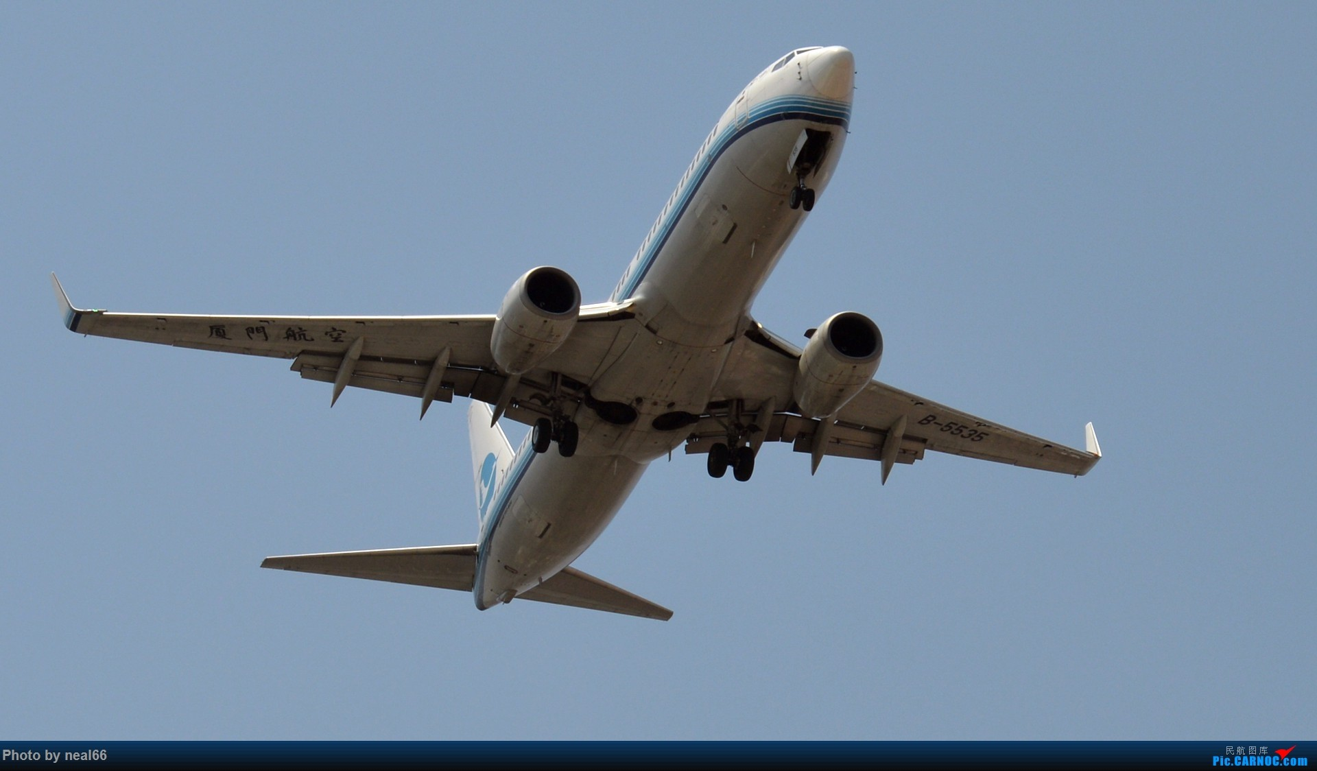Re:[原创]好天气,试几张 BOEING 737-800 B-5535 中国厦门高崎国际机场