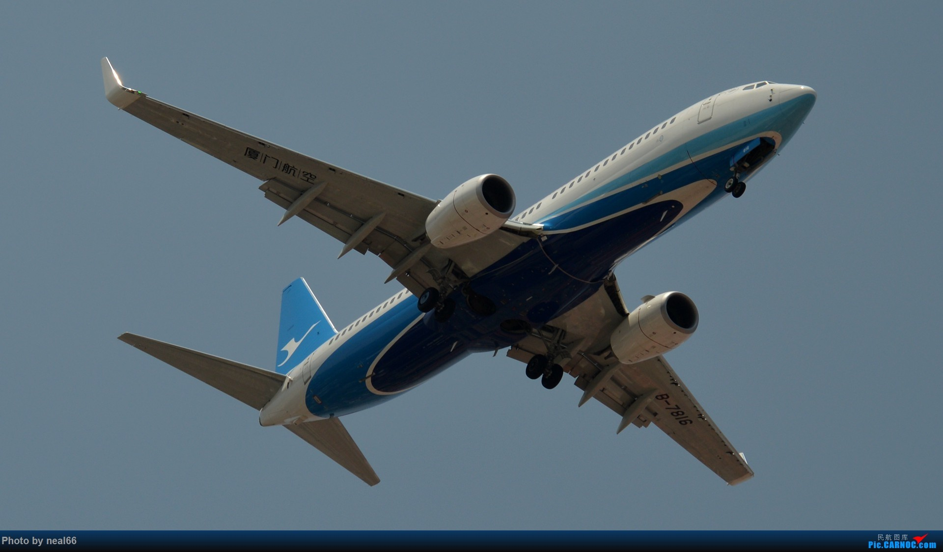 Re:[原创]好天气,试几张 BOEING 737-800 B-7816 中国厦门高崎国际机场